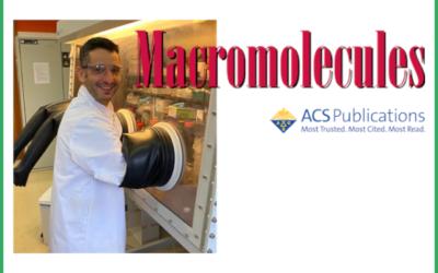 Haritz Sardon member of the Editorial Advisory Board of Macromolecules